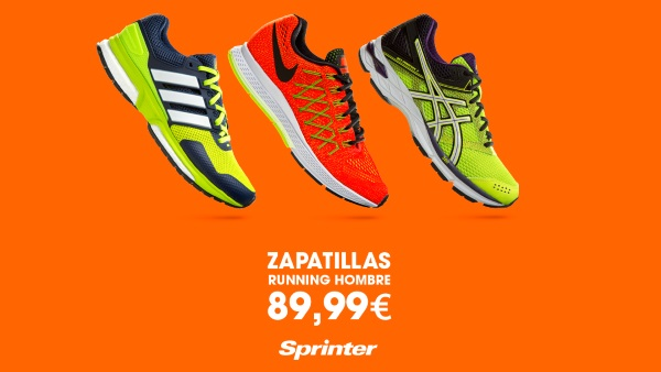 zapatillas running sprinter